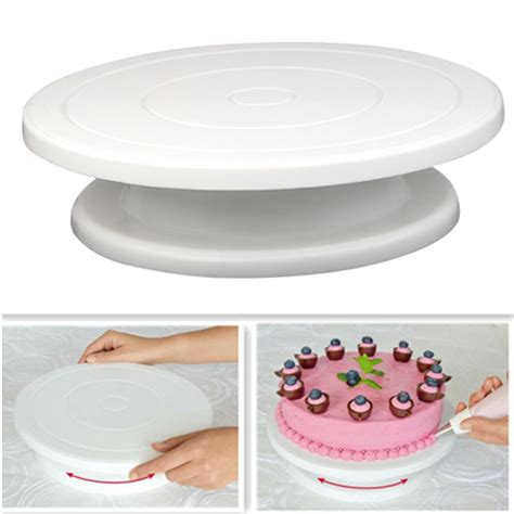 Cake Decorating Stand by 28cm Kitchen Cake Decorating Icing Rotating Turntable Cake