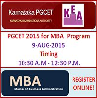 Mba For Mds by Karnataka Pgcet 2015 For Mba Admissions In Top Colleges