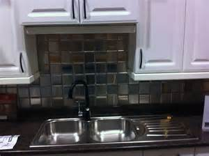 Stainless Steel Tiles For Kitchen Backsplash stainless steel backsplash tiles home design ideas
