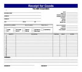 Goods Receipt Template Receipt For Goods Receipt For Goods Template