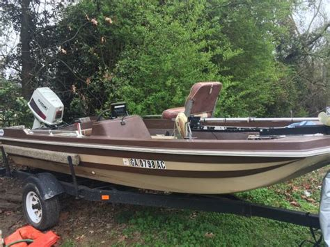 used bass boats north ga 1981 cajun bass boat 1500 cohutta ga boats for sale