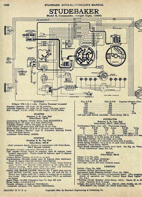 1940 studebaker wiring diagram schematic free