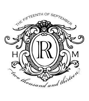 Wedding Emblem Font by Logo 16 Traditional Wedding Logo Design For My