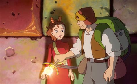 studio ghibli film arrietty review arrietty trespass magazine