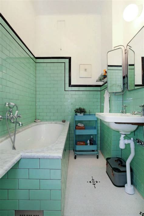 retro green bathroom pin by rachel rainbow vintage home on interiors pinterest