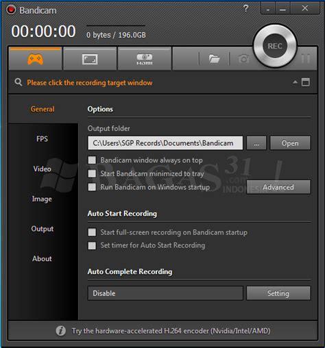 bagas31 screen recorder bandicam 3 0 4 full version bagas31 com