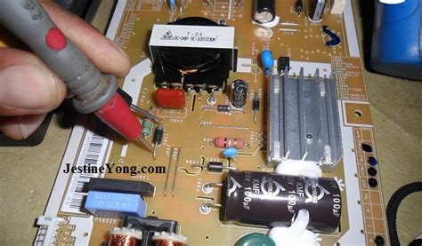 no power in toshiba led tv repaired electronics repair