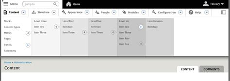 ui pattern toolbar fix toolbar on small screen sizes and redesign toolbar for