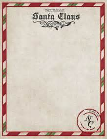 letter from santa claus template santa claus letter template printable free invitation