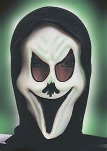 ghost no mask halloween masks no nose ghost mask