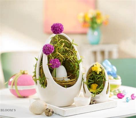 Osterdeko Mit Blumen by Es Wird Zeit F 252 R Die Erste Osterdeko Mit Eiern Und Blumen