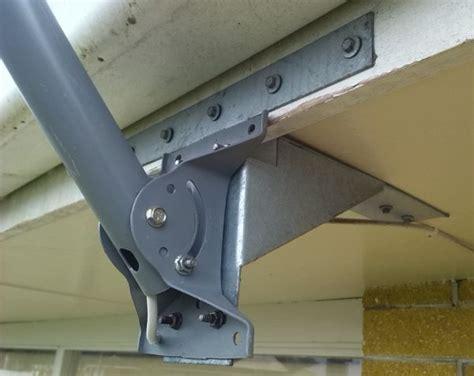 satellite eave mount facia satellite mounts brackets