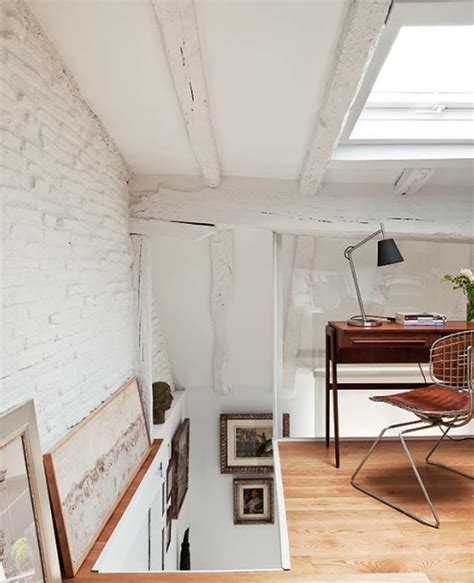 attic apartments  small office room located  spain