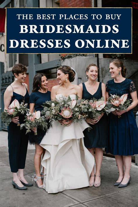 The Best Places to Buy Bridesmaids Dresses Online