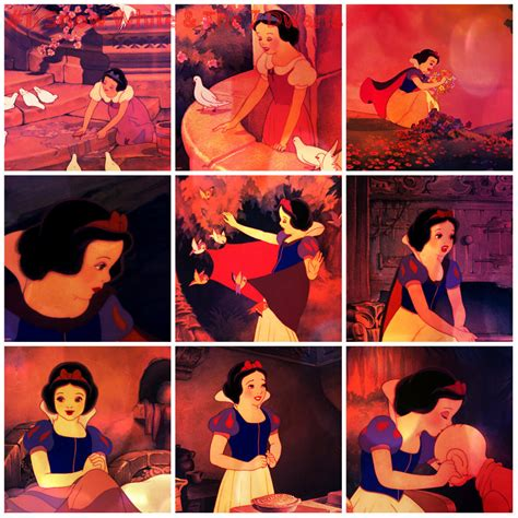Snow White Collagen snow white and the 7 dwarfs collage by sweethea on deviantart
