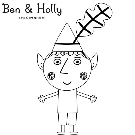 princess holly coloring page colouring pages ben and hollys little kingdom little