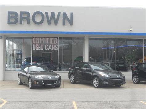 brown mazda toledo oh 43615 car dealership and auto
