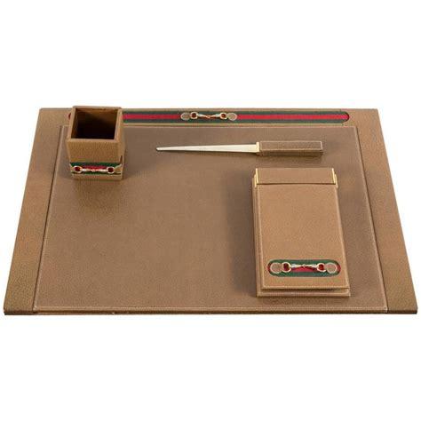 Decorative Desk Accessories Sets by Gucci Desk Set For Sale At 1stdibs