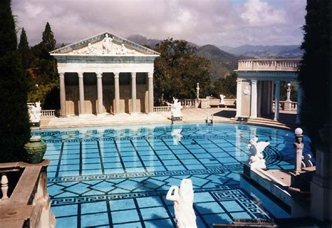 an amazing pool at hearst castle in california pics