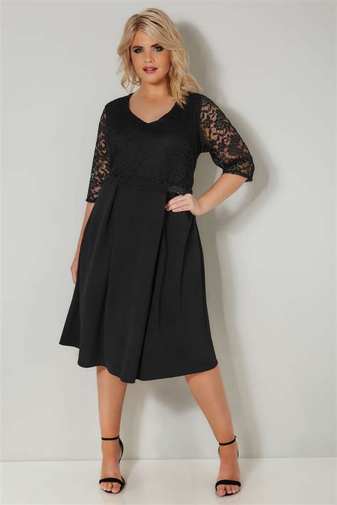 london black lace midi dress  size