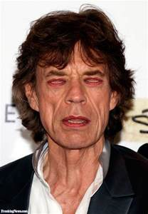 Mick Jaguar Pin Mick Jagger On
