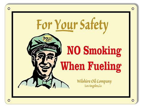 no smoking sign at gas station no smoking when fueling gas station sign 9 215 12