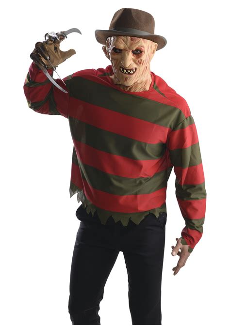 adult freddy krueger costume  mask