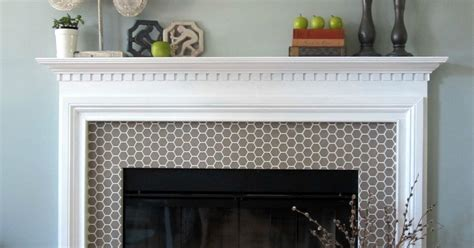 chalk paint quakertown pa stenciled faux tile fireplace makeover hometalk