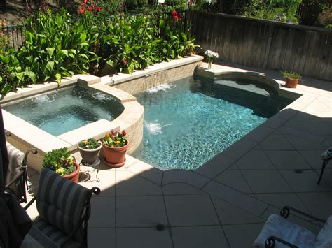 Small Pool In Backyard Small Backyards Pacific Paradise Pools