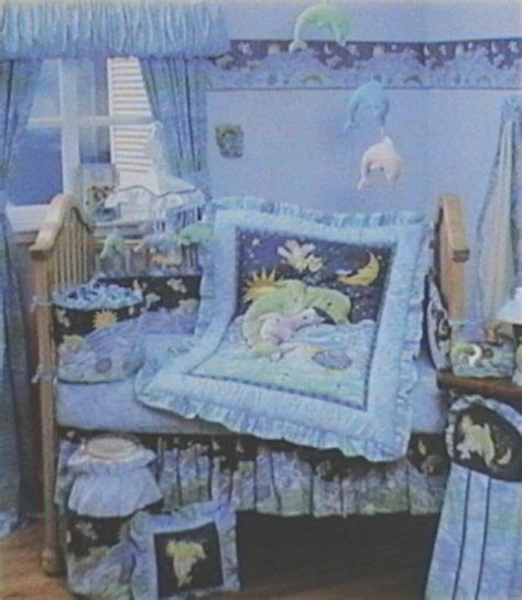 Dolphin Crib Bedding Kidsline Mar Delmar 6p Baby Boy Or Nursery Crib Bedding Waves Set Dolphins Line