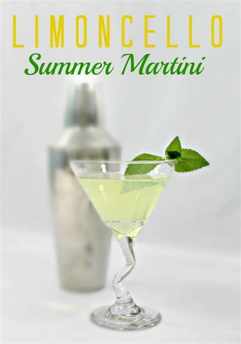 martini limoncello so creative 16 delicious summer drink recipes