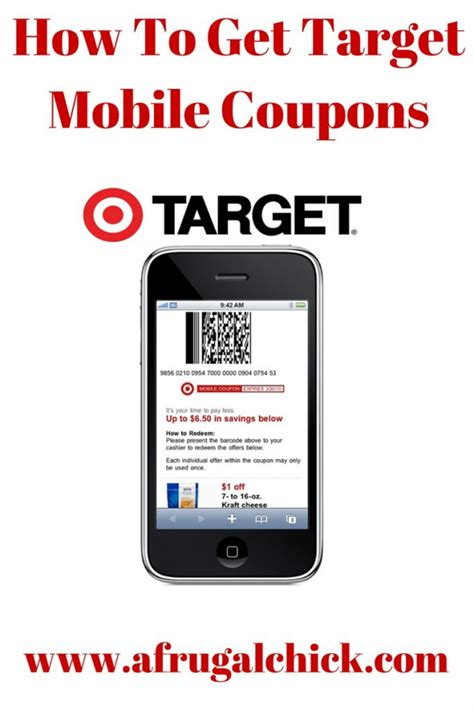 mobile coupons how to get target mobile coupons