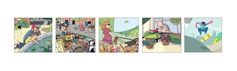 layout komiksu design makowe abc