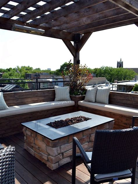 17 Best Images About Roof Top Decks On Pinterest Bar Firepit Top