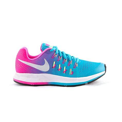 pink blue womens nike zoom pegasus 33 shoes