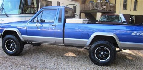 jeep comanche blue 1987 jeep comanche base standard cab 2 door 4 0l