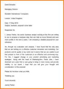 2 business proposal letter for a new product proposal