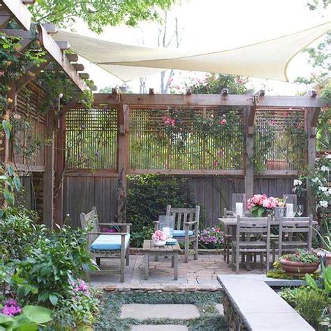 terrasse zaun selber bauen holz zaun pergola sichtschutz selber bauen landscape
