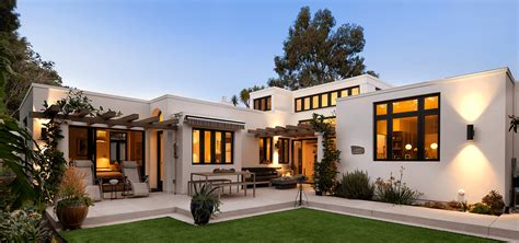 modern spanish style homes transitional design new home allen construction