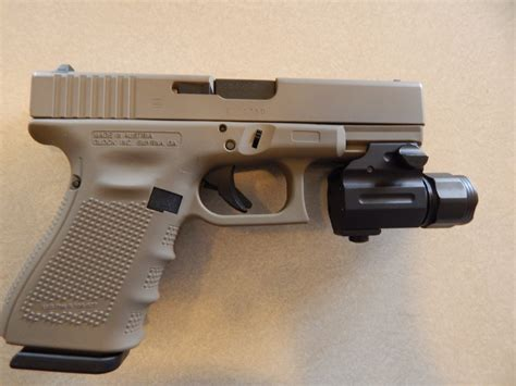glock 19 4 tactical light glock 19 4 fde 9mm w tactical light nib for sale