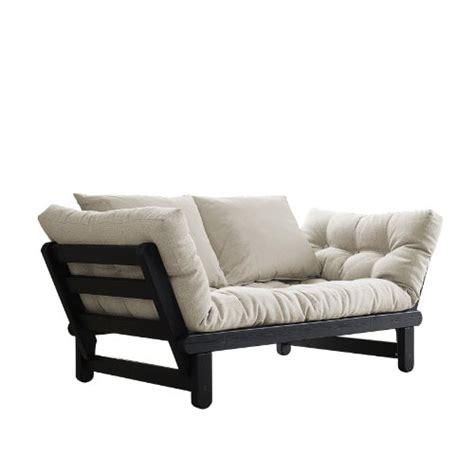 fresh futon beat convertible futon sofabed black frame