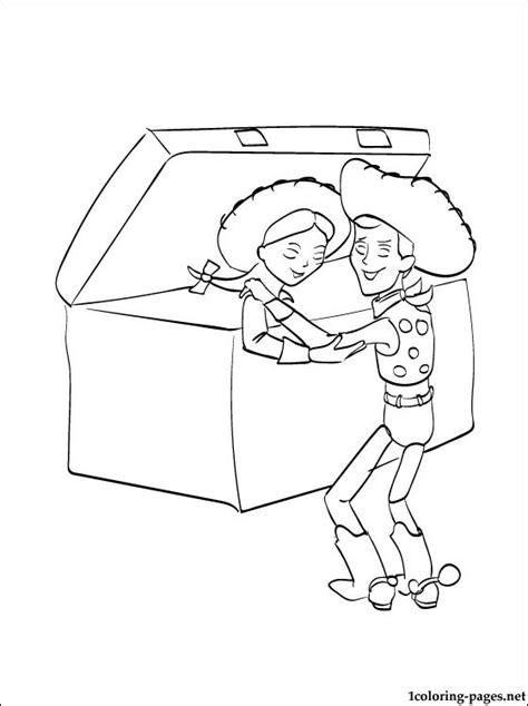 coloring page toy story 2 for kids coloring pages
