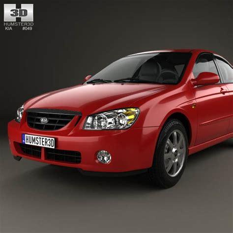 2004 Kia Models Kia Cerato Spectra Sedan 2004 3d Model Humster3d