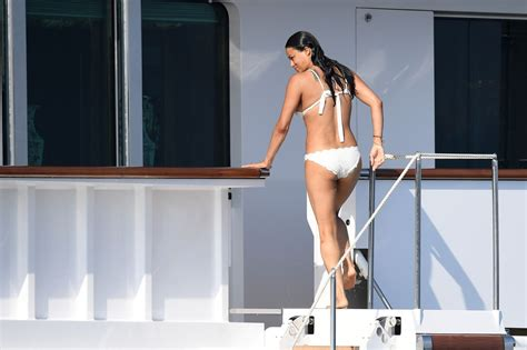michelle rodriguez yacht michelle rodriguez in bikini on a yacht in sardinia 08 10 2018