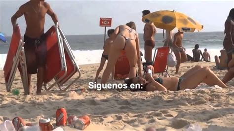 Chicas En La Playa Youtube | chicas sexys en bikini en la playa semidesnudas youtube
