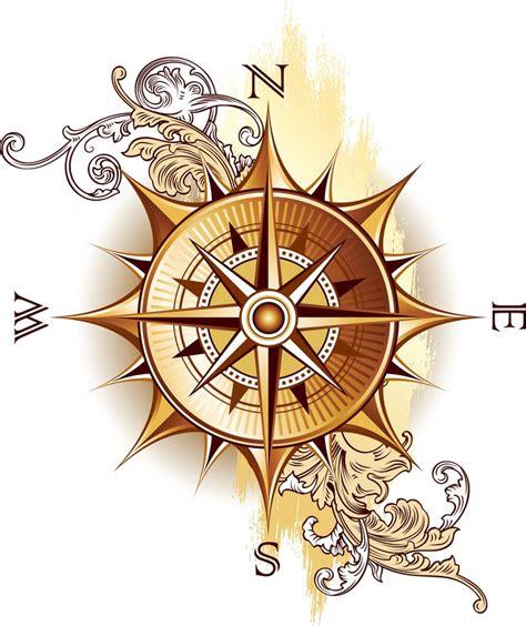 old compass tattoo compass antique tattoos compass design