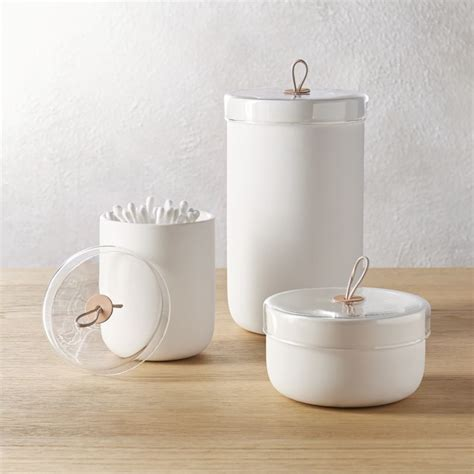 white ceramic kitchen canisters ventura white ceramic canisters cb2