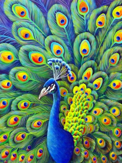 25 best ideas about peacock painting on peacock peacock canvas and watercolor