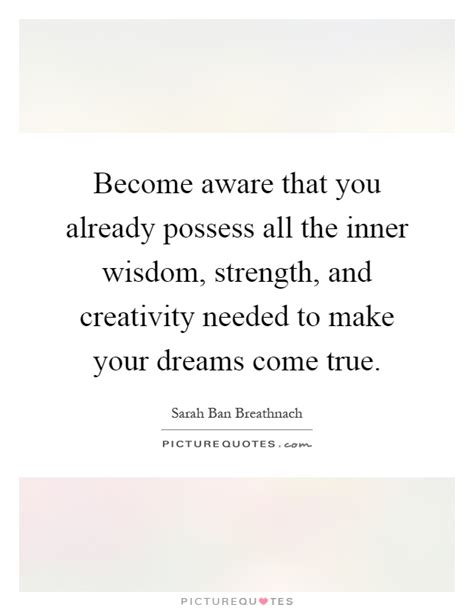 inner work using dreams and creative imagination for personal growth and integration books become aware that you already possess all the inner wisdom