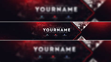 Youtube Header Template Gaming Youtube Banner Template Psd 2017 Photoshop Banner Template Psd Free Gaming Banner Template